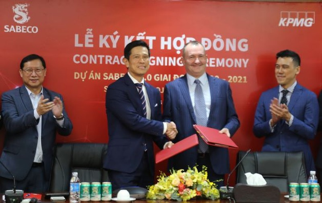 Bia Sài Gòn chính thức triển khai dự án chuyển đổi số - ảnh 1