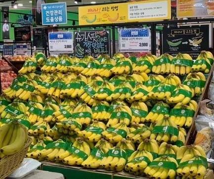 Chuối Việt lần đầu bán ở đại siêu thị Hàn Quốc, 80.000 đồng/kg - ảnh 1