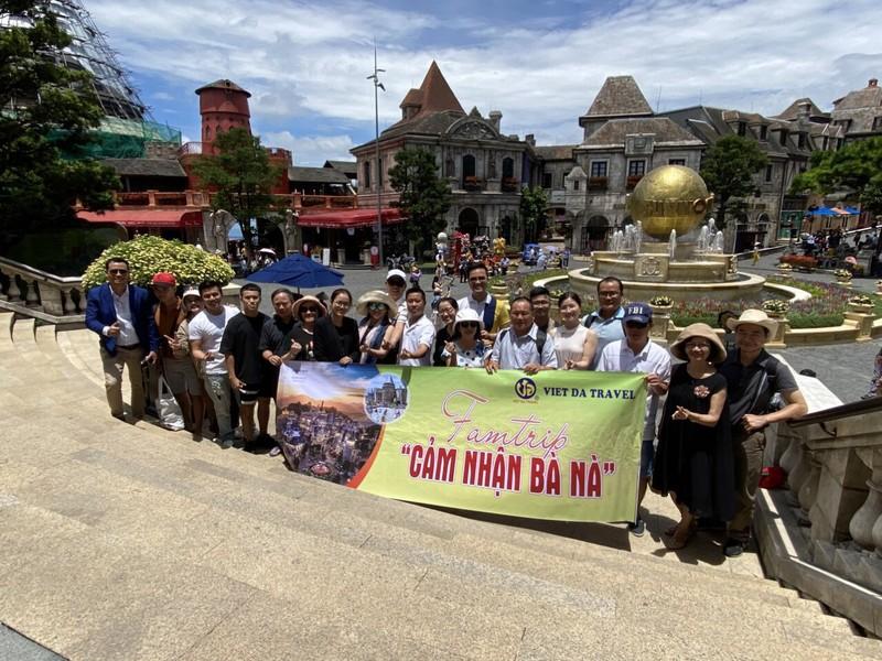 Khách du lịch chưa huỷ tour đến Đà Nẵng - ảnh 1