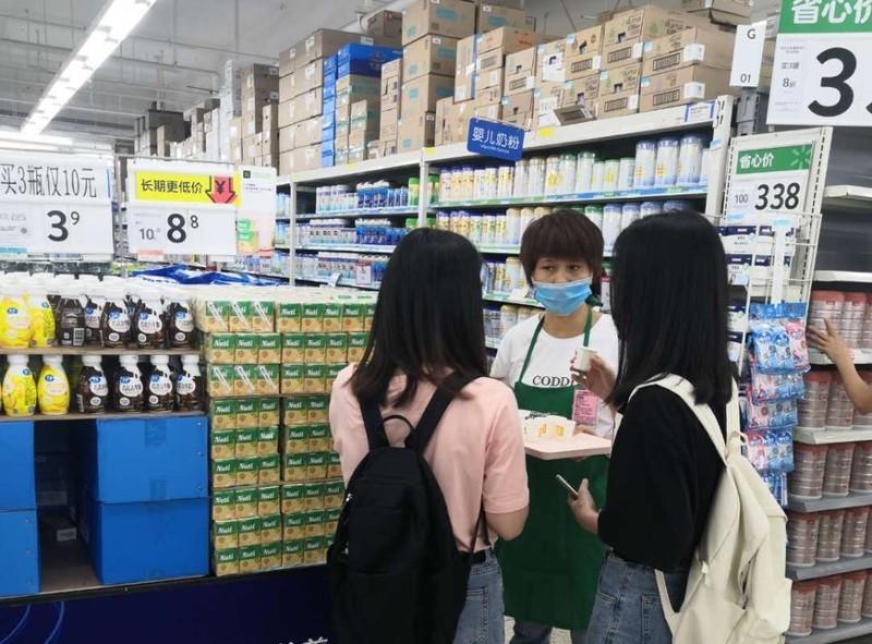 Sữa đậu nành của NutiFood lên kệ 450 siêu thị Walmart  - ảnh 1