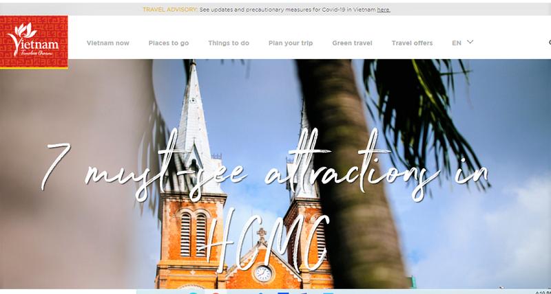 Website du lịch Việt Nam sắp về lại Tổng Cục Du lịch - ảnh 1