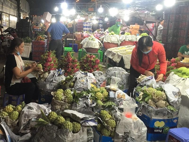 Ngày 20-9 mở điểm tập kết hàng hóa tại chợ đầu mối Hóc Môn - ảnh 2
