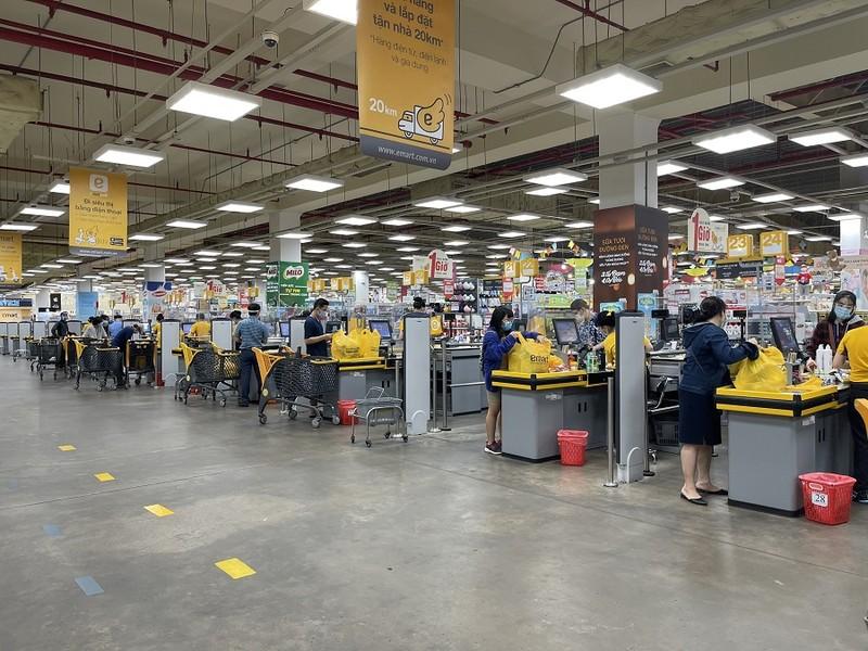 Chiều 4-10, siêu thị Emart đã được mở cửa trở lại  - ảnh 7