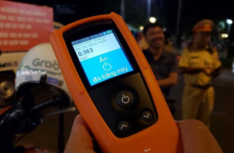 Công an tung máy đo nồng độ cồn của Australia để trị 'ma men' - ảnh 1