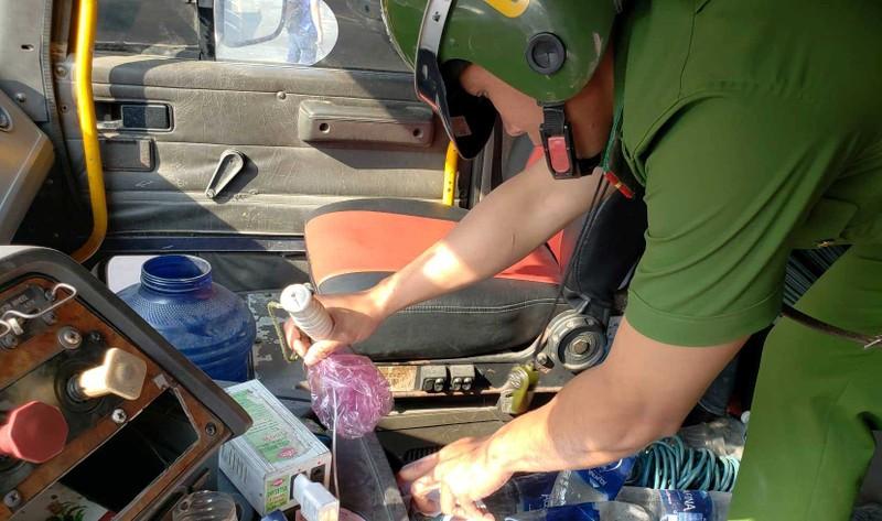 1 tài xế dương tính với ma túy tại cảng Cát Lái - ảnh 1