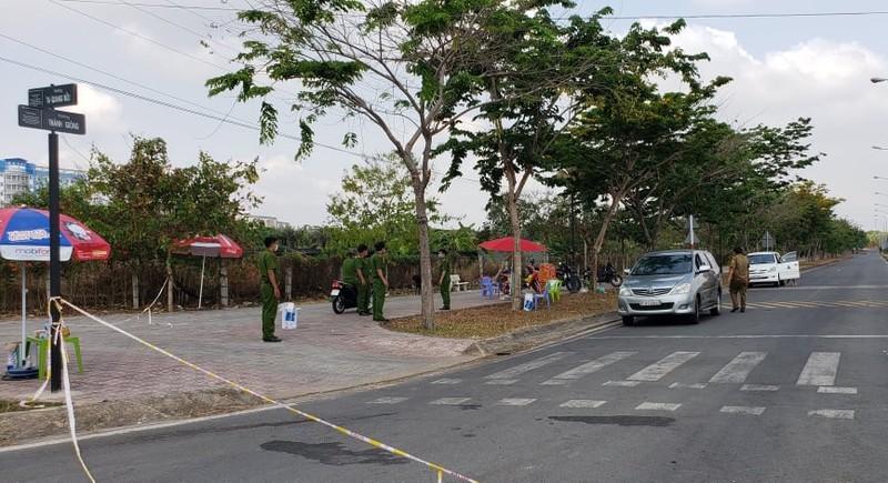An ninh nghiêm ngặt tại khu cách ly KTX Đại học Quốc gia - ảnh 4