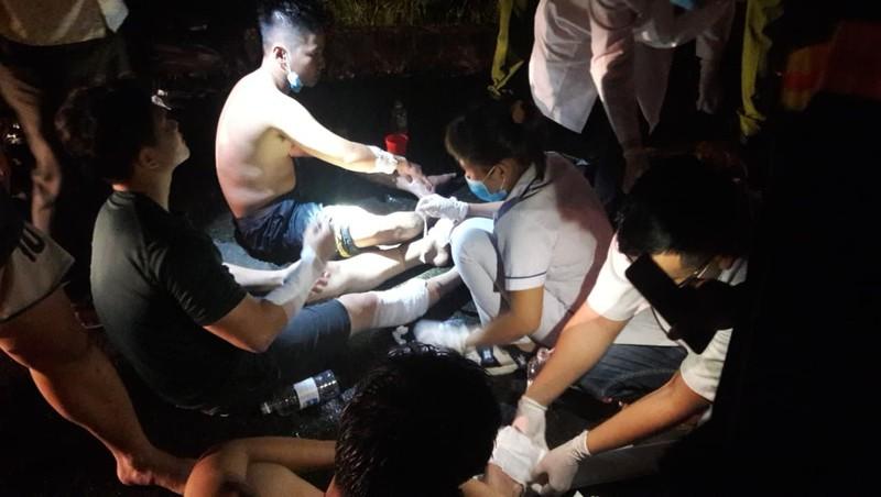 33 cảnh sát bị thương khi chữa cháy ở Khu chế xuất Tân Thuận  - ảnh 5