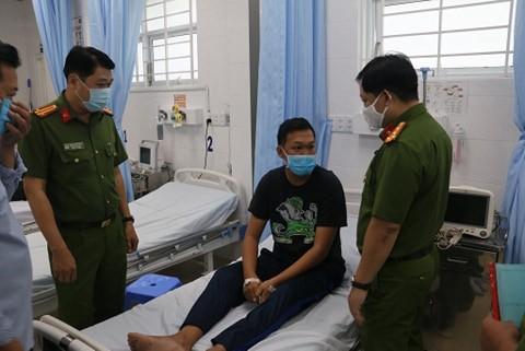33 cảnh sát bị thương khi chữa cháy ở Khu chế xuất Tân Thuận  - ảnh 3