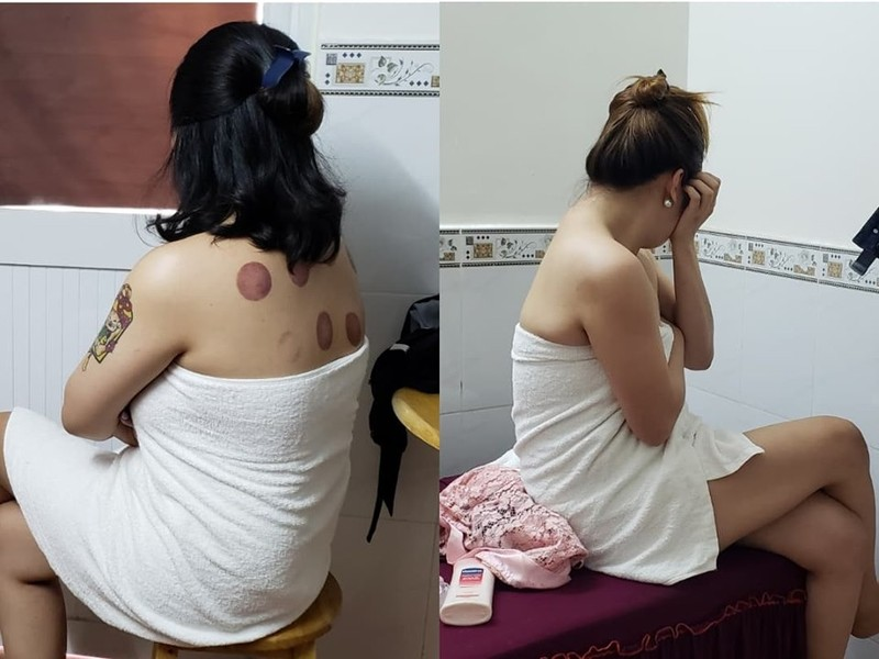 Tân Bình: Nữ nhân viên massage 'tắm tiên' với khách - ảnh 1