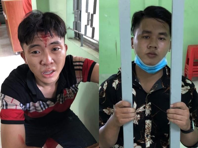 Kẻ trộm xe rút dao tấn công Cảnh sát hình sự Thủ Đức bị thương - ảnh 1
