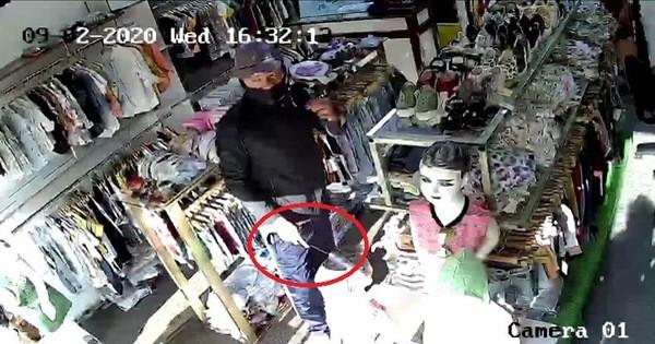 Từ trang phục vứt lại, kẻ cướp shop quần áo ở Thủ Đức bị bắt - ảnh 2