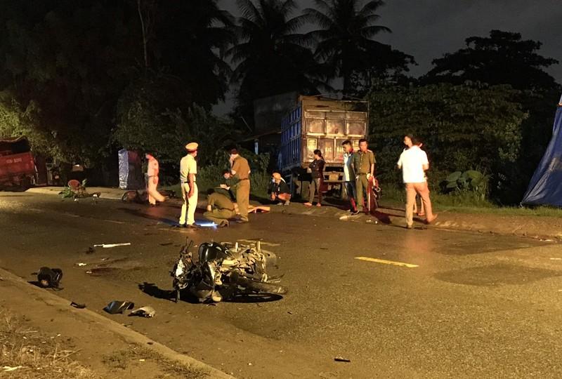 2 xe máy tông trực diện ở quận 9 làm 2 người thương vong - ảnh 2