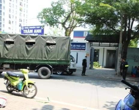 Công an khám xét Công ty nhiên liệu Phúc Lâm tại quận 7 - ảnh 5