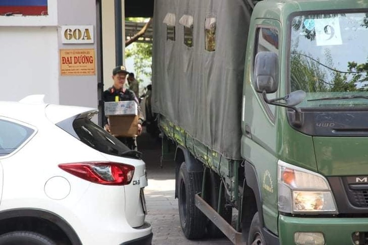 Công an khám xét Công ty nhiên liệu Phúc Lâm tại quận 7 - ảnh 6