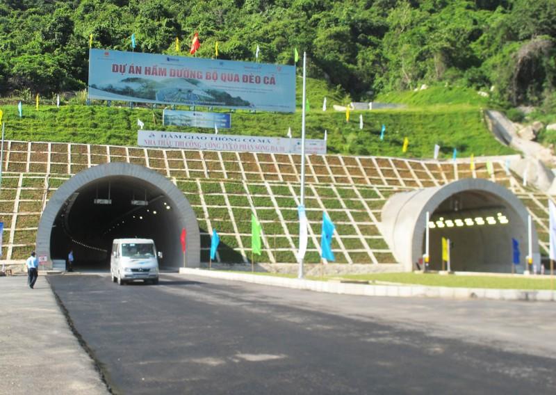 Thông xe hầm đường bộ đèo Cổ Mã - ảnh 6