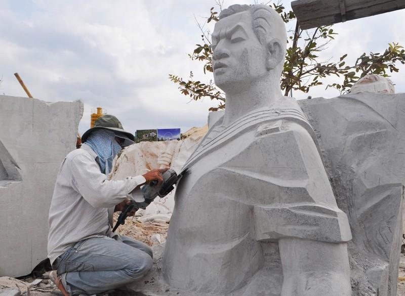 Tượng đài Gạc Ma: 'Những người nằm lại phía chân trời' - ảnh 8