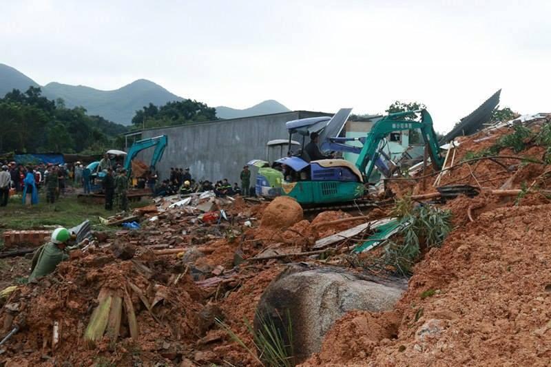 Sạt lở núi kinh hoàng ở Nha Trang, 10 người thương vong - ảnh 5