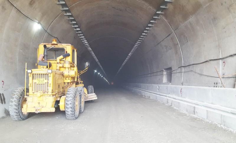 Từ tháng 8-2017, ô tô bắt đầu qua hầm đèo Cả - ảnh 2