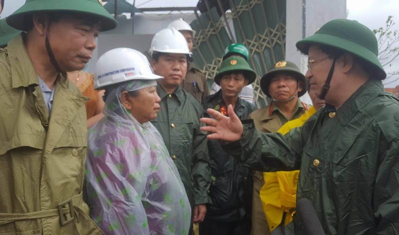 Phó Thủ tướng đến miền Trung chỉ đạo ứng phó lũ lớn  - ảnh 2