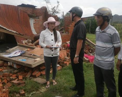Trợ giúp khẩn cấp người dân vùng tâm bão - ảnh 6