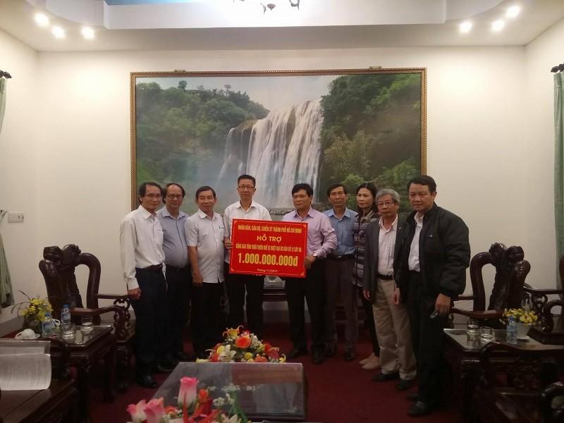 TP.HCM hỗ trợ đồng bào bị lũ lụt miền Trung 6 tỉ đồng - ảnh 3
