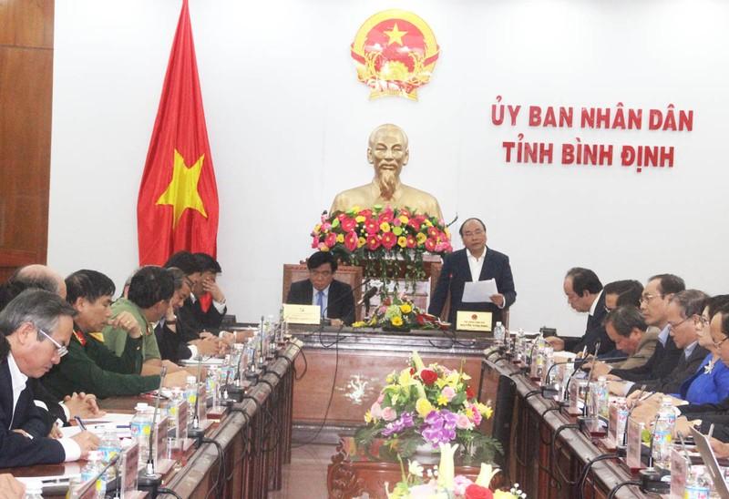 Thủ tướng: Sẽ xem xét vấn đề cổ phần hóa cảng Quy Nhơn - ảnh 3
