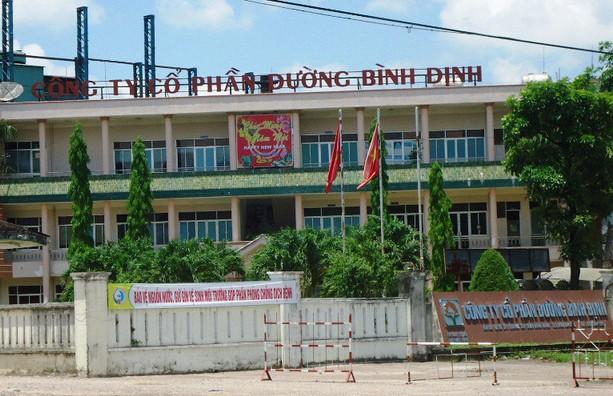Nhà máy đường Bình Định bị dừng hoạt động do ô nhiễm - ảnh 1