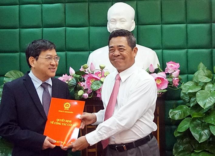 Ban Bí thư có QĐ điều động phó chủ tịch Khánh Hòa  - ảnh 1