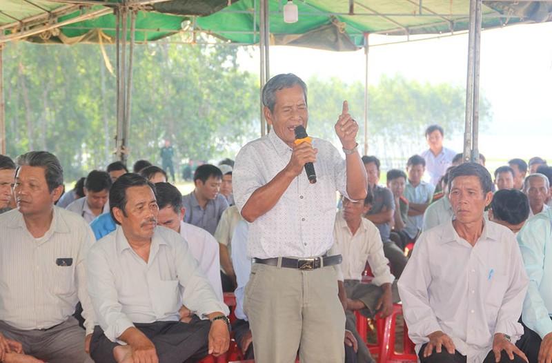 Dân Bình Định lại giữ người để phản đối dự án  - ảnh 2
