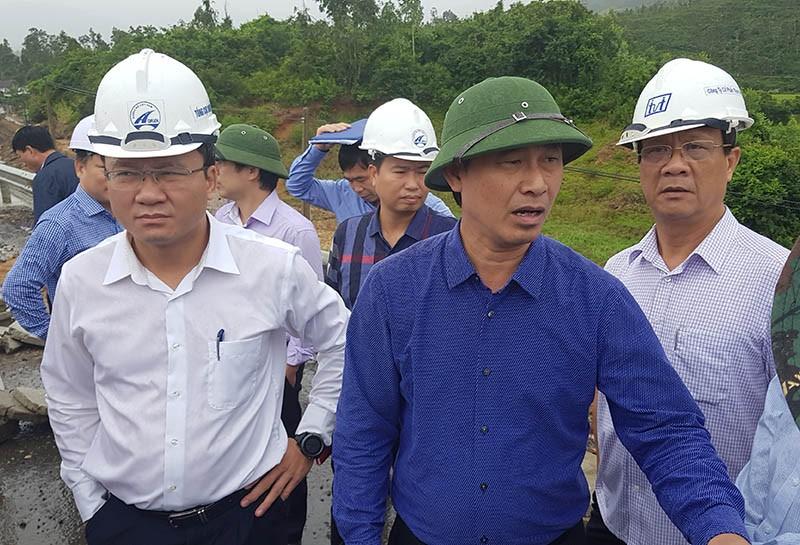 Bộ GTVT kiểm tra hư hỏng quốc lộ 1 đoạn qua Phú Yên - ảnh 3