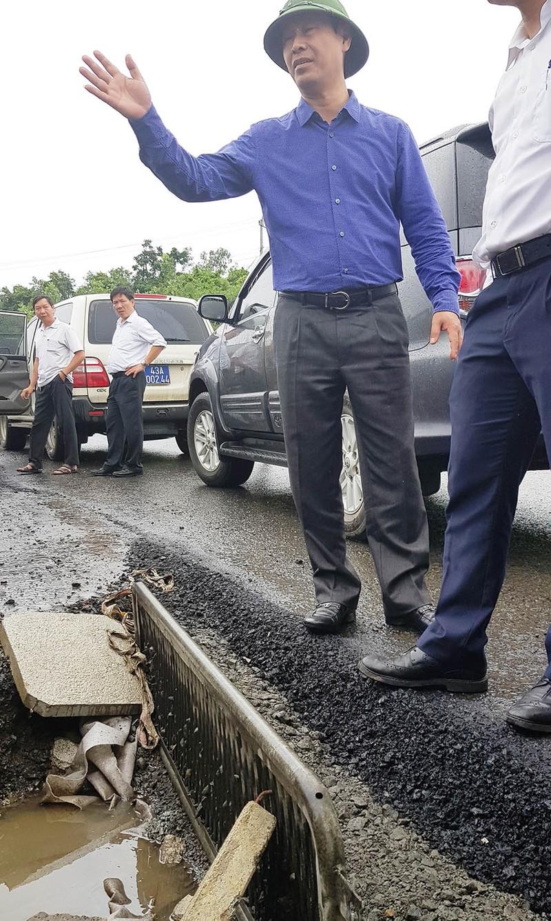 Bộ GTVT kiểm tra hư hỏng quốc lộ 1 đoạn qua Phú Yên - ảnh 2