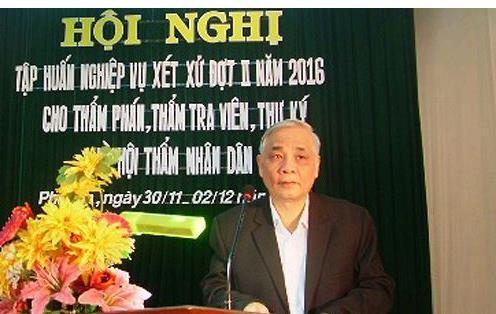 Cựu chánh án TAND tỉnh Phú Yên bị truy tố tội tham ô - ảnh 1