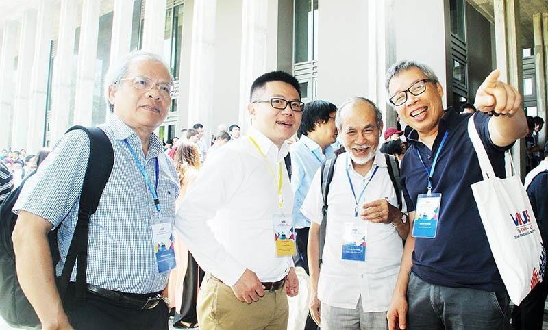 GS Ngô Bảo Châu đồng chủ trì hội nghị Toán học Việt- Mỹ 2019 - ảnh 1