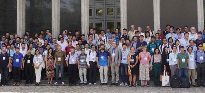 GS Ngô Bảo Châu đồng chủ trì hội nghị Toán học Việt- Mỹ 2019 - ảnh 2