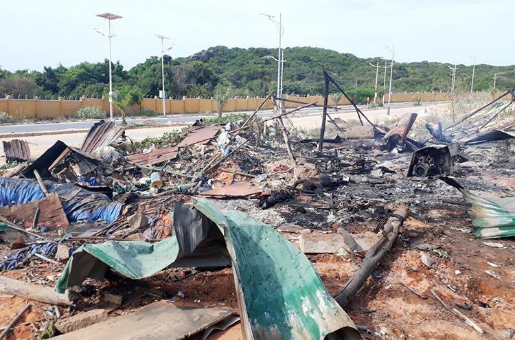 Vụ nổ kinh hoàng ở sân golf Cam Ranh: Nạn nhân không kịp chạy - ảnh 2