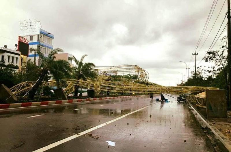 Bão số 5 đánh hỏng hơn 70 tàu cá ở Quy Nhơn - ảnh 7