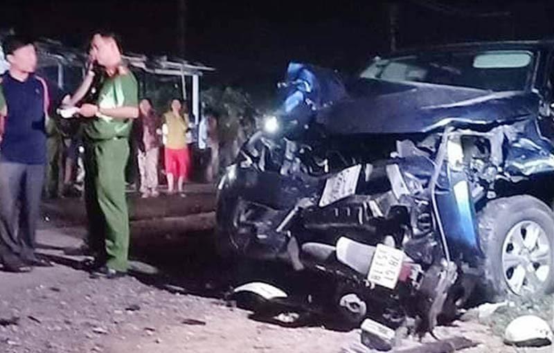 Tài xế xe bán tải uống bia rượu trước khi tông chết 4 người - ảnh 1