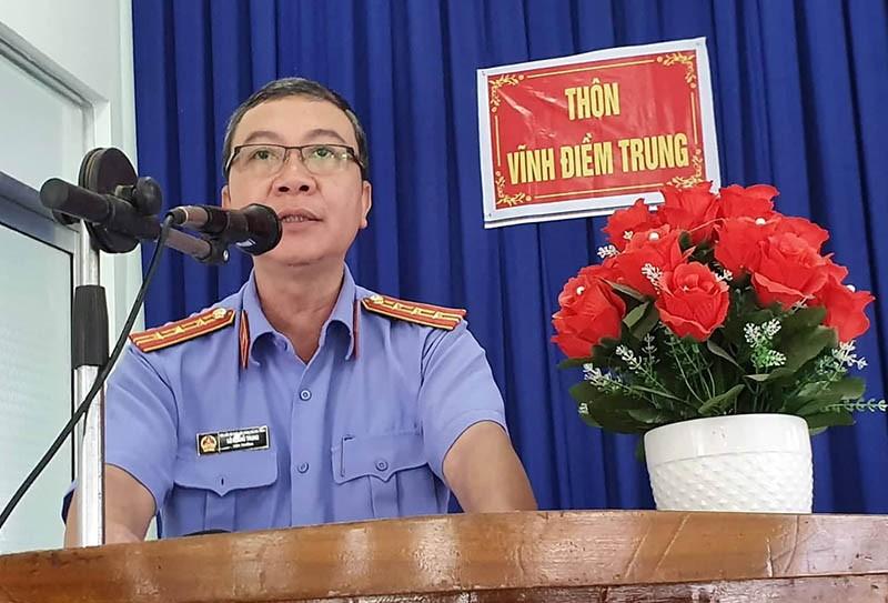 Viện Kiểm sát TP Nha Trang xin lỗi người bị oan 18 năm  - ảnh 3