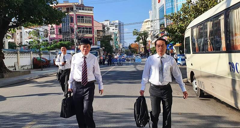Nhiều báo vẫn không được dự phiên xử ông Trần Vũ Hải - ảnh 1