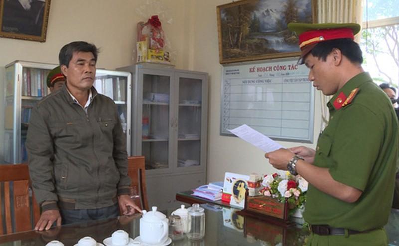 Cựu trưởng Phòng Tài nguyên bị bắt vì sai phạm quản lý đất đai - ảnh 1