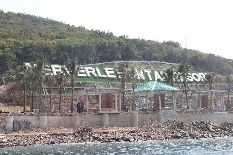 Phạt chủ đầu tư xây dựng không phép trên đảo Hòn Tằm  - ảnh 1