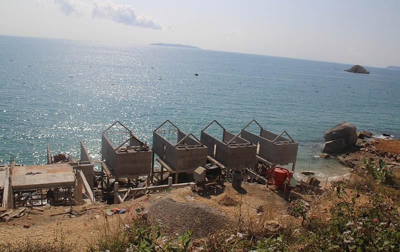 2 dự án nghỉ dưỡng ở Bình Định xây sai phép  - ảnh 2