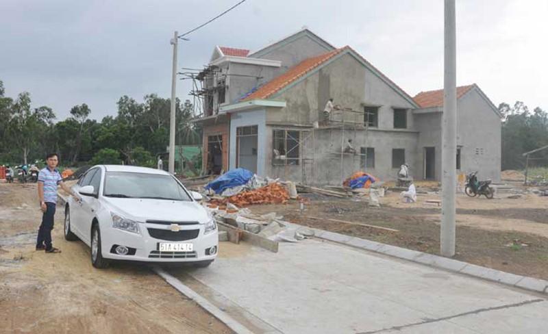 Phú Yên: Công trình tái định cư không thi công vẫn thanh toán - ảnh 1