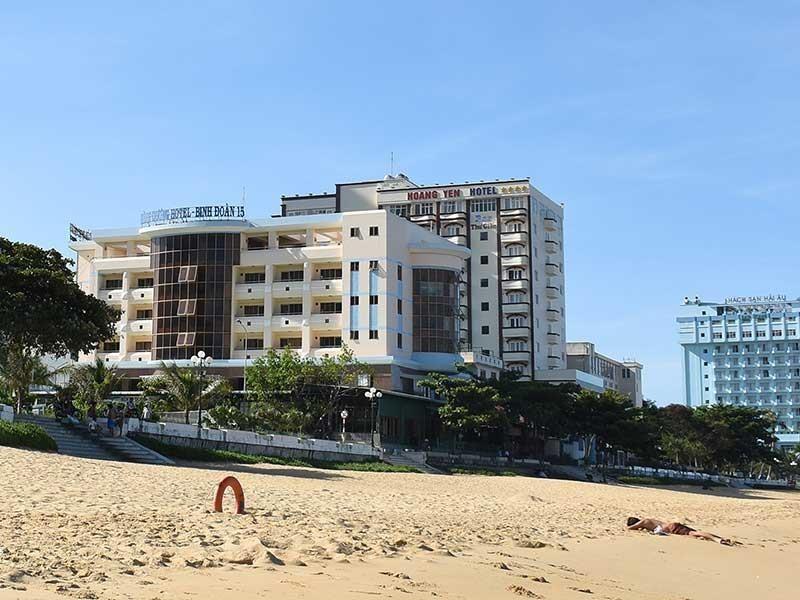 Giải tỏa khách sạn ven biển, Bình Định gặp vướng quy định - ảnh 1