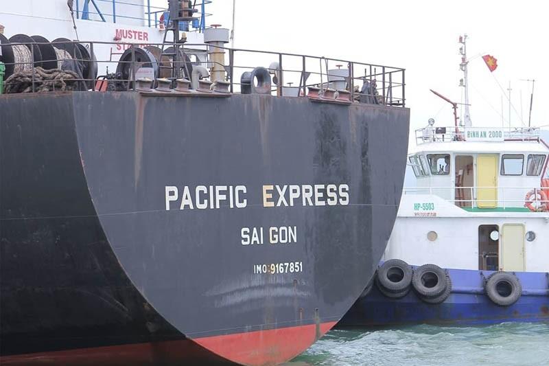 Tìm thấy tàu hàng tông chìm tàu cá, bỏ mặc ngư dân bị nạn - ảnh 1