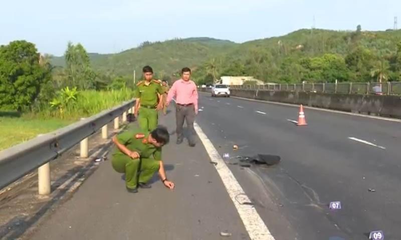 Truy tìm ô tô tông chết người trên quốc lộ 1 - ảnh 1
