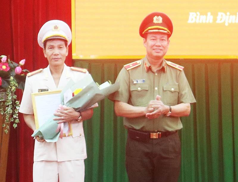 Phó giám đốc Công an Quảng Ngãi làm giám đốc Công an Bình Định - ảnh 1