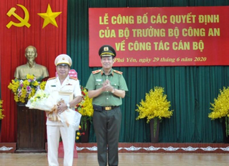 Phó giám đốc Công an Gia Lai làm giám đốc Công an Phú Yên - ảnh 1