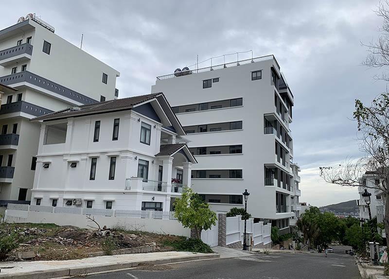Loạt biệt thự xây hoàn thiện dù bị yêu cầu cưỡng chế nhiều lần - ảnh 1