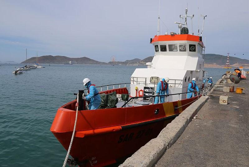 Cứu thuyền viên nước ngoài bị nguy kịch trên biển - ảnh 2